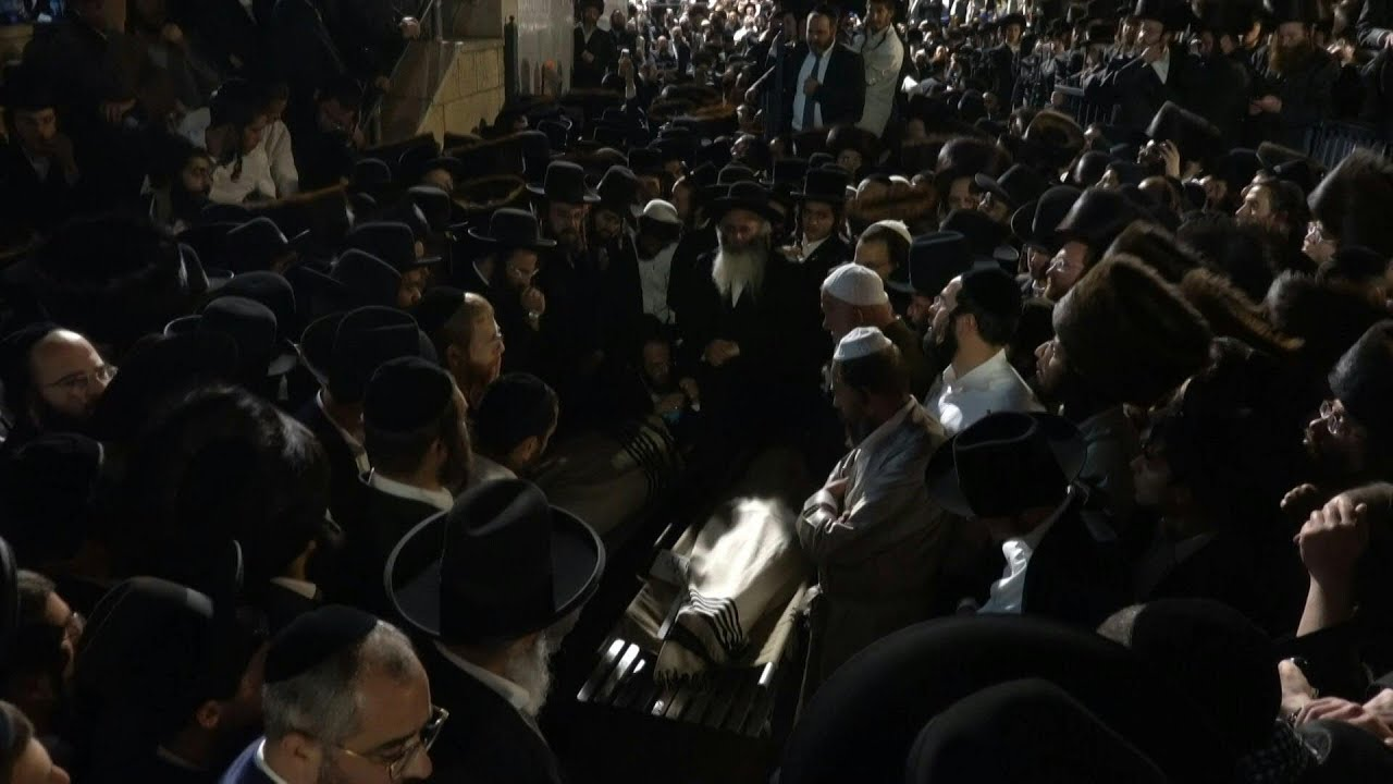 Día de duelo nacional en Israel tras la tragedia de Monte Merón | AFP