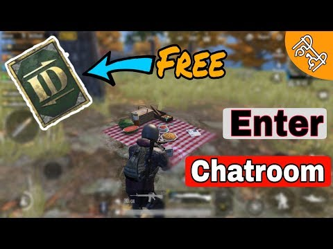 How To Get Free Rename Card In Pubg Mobile || Chatroom Mission || Only 2% People Know About This