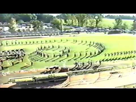 Baldwin County High School Marching Band (Bay Minette, AL) 1990 Marching Show