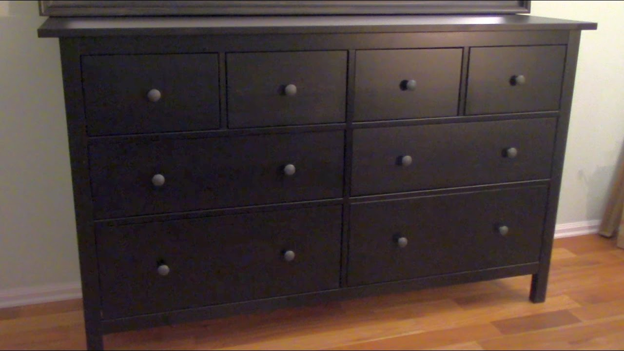 How To Assemble An Ikea Dresser Part 1 Of 3 Youtube