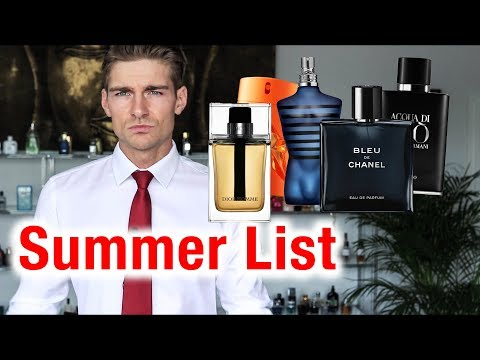Best Colognes For Summer Time 2018