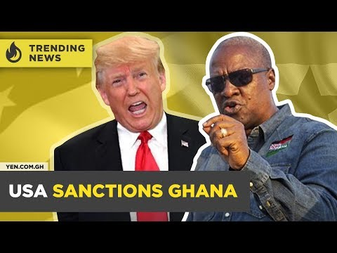 Ghana News Today: Mahama Criticized Over 'Boot for Boot' Statement / USA Sanctions Ghana| #Yencomgh