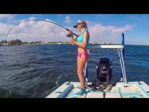 Discovered DEEP Hole Full Of Fish! Florida Inshore Fishing