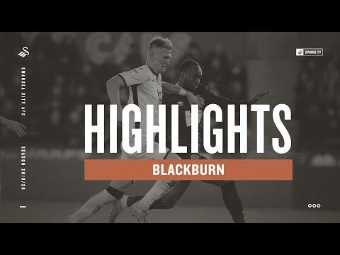 Swansea City V Blackburn Rovers | Highlights