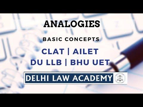 Delhi Law Academy - Analogy Questions Tutorial
