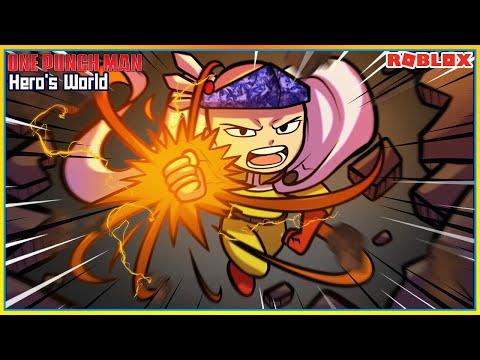 💠ROBLOX👊Hero's World เเมพวันพันช์แมนใหม่ สุ่มพลังฮีโร่สุดเกลือมาใช้!! ᴴᴰ