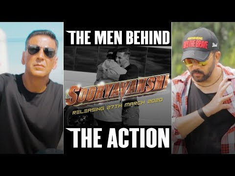 Behind The Scenes - Sooryavanshi | Akshay Kumar | Katrina Kaif | Rohit Shetty | 27th March 2020