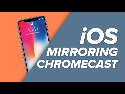 HOW TO Mirror Your IPhone To Chromecast!