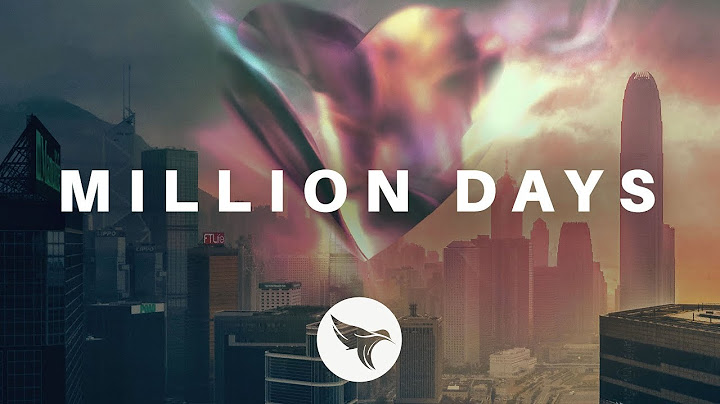 sabai  million days official lyric video ft hoang  claire ridgely