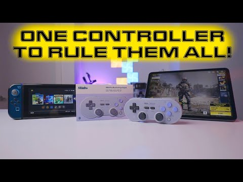 The Best Budget Controller For Nintendo Switch And IPad | 8BitDo SN30 Pro Controller Review
