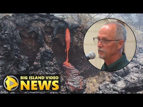 USGS Gives Hawaii Eruption Update (July 10, 2018)