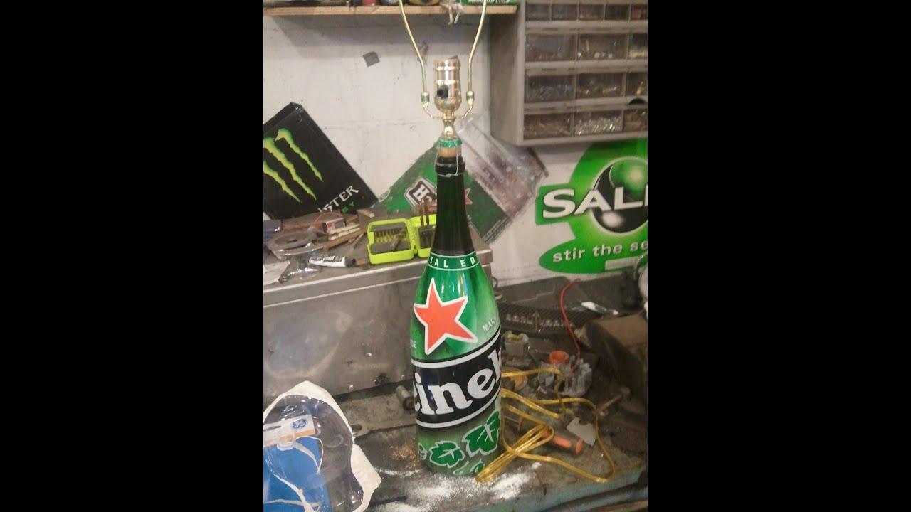 Diy Beer Bottle Table Lamp