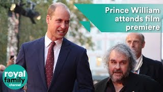 Prince William attends premiere of new World War One film