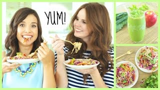 Quick & Healthy Breakfast + Lunch Ideas! Thumbnail