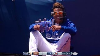 HOU@TOR: Stroman on his bobblehead day