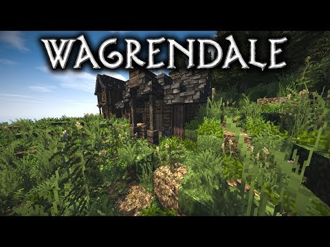 Minecraft: Wagrendale - Ep3 A Small Shack (Let's Build)
