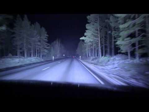 Night drive - Finland, Tampere - Huittinen - Leinmäki