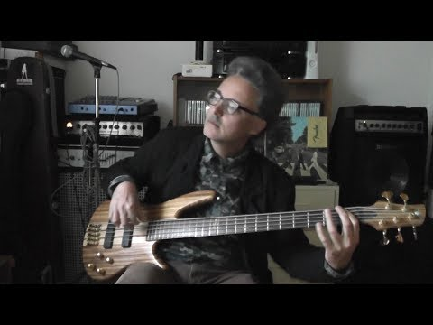 Bass cover. Nik Kershaw: Wide Boy.