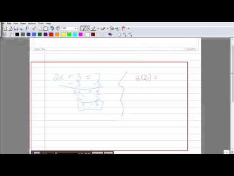 Recording Math Tutorials with Screencast-o-matic