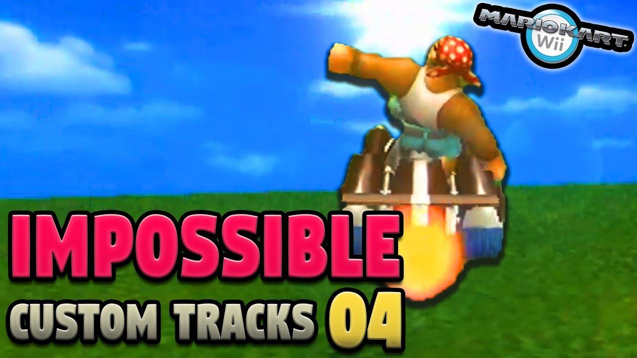 Mario Kart Wii S Impossible Custom Tracks Ep 4