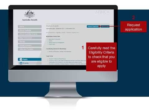How to apply for an Australia Award