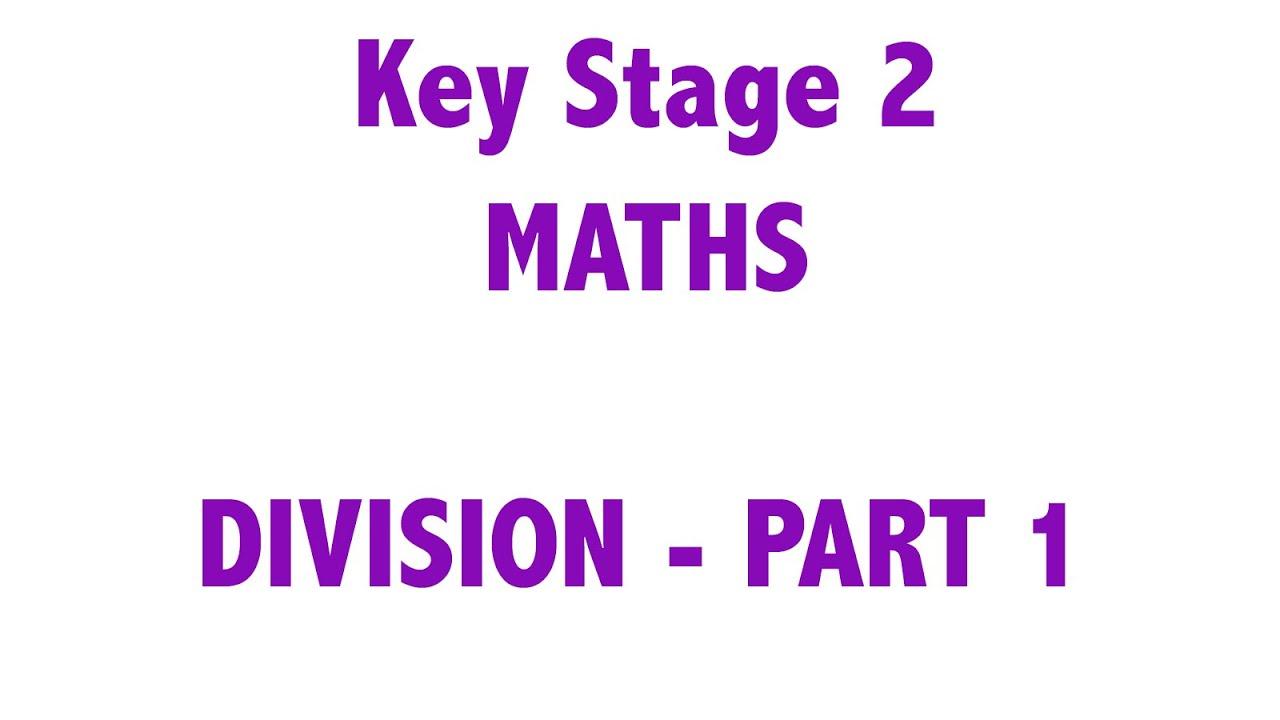 KS2 - Maths - Division Part 1 (Chunking) - YouTube