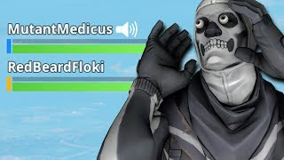 If Fortnite added PROXIMITY VOICE CHAT