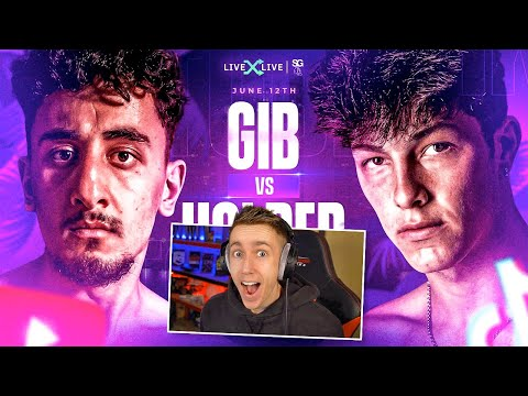 MINIMINTER REACTS TO GIB VS TAYLOR HOLDER OFFICIAL ANNOUNCEMENT!