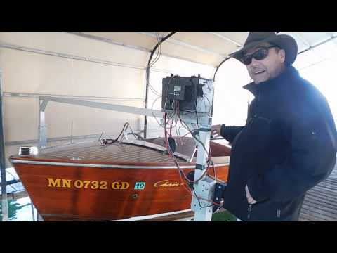 How to DIY Off Grid  Solar Powered Boat Lift on Green Energy