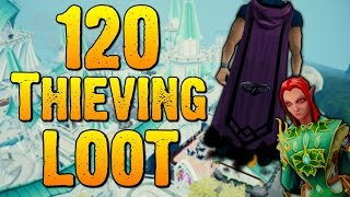 Runescape - Loot From 120 Thieving at Elf City