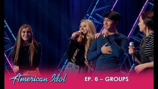 Laine Hardy Goes On Stage Without REALLY Knowing His Groups Song But Then...| American Idol 2018