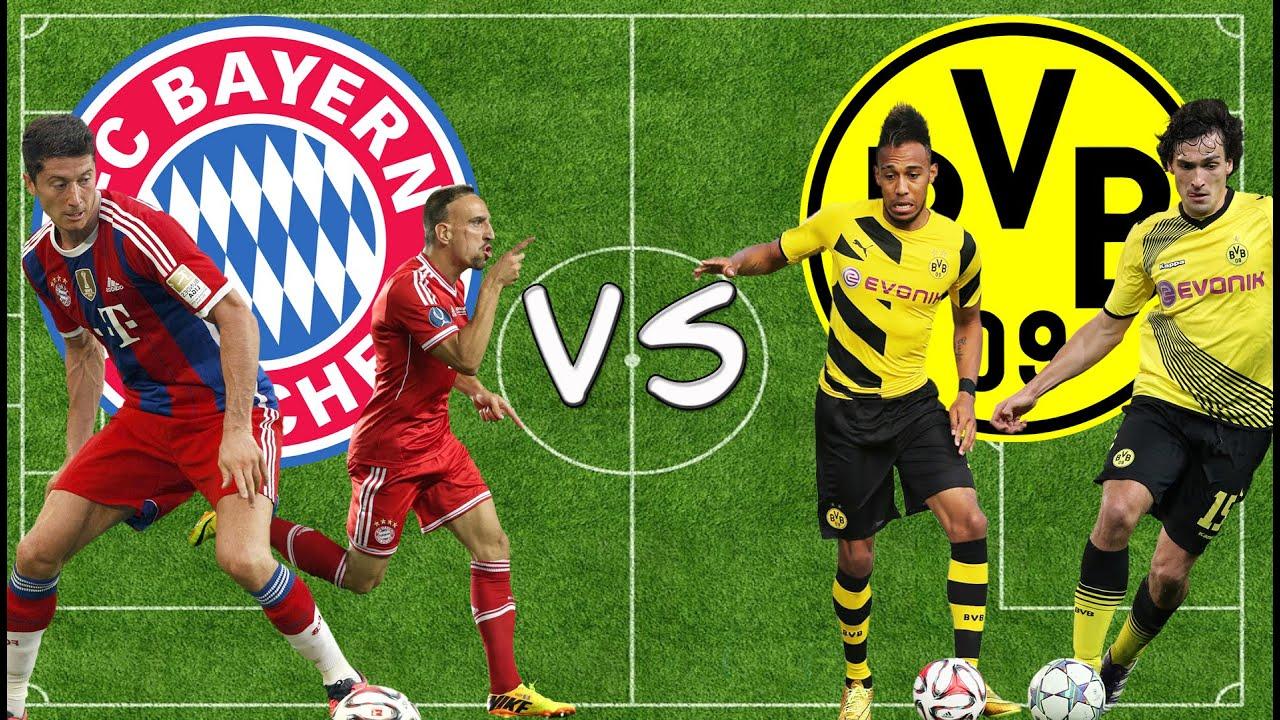 Bayern Dortmund AnstoГџ