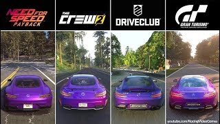 The Crew 2 vs. Need For Speed Payback vs. DriveClub vs. Gran Turismo Sport | Graphics Comparison PS4