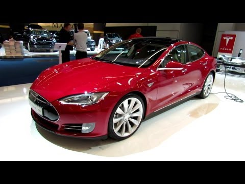 2014 Tesla Model S - Exterior and Interior Walkaround - 2013 Frankfurt Motor Show