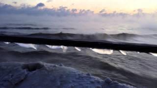 Repeat youtube video Chicago's Polar Vortex 2014 - Lake Michigan's Extreme Cold -17°F Steamy Sunrise