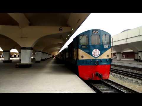Railway station kamalapur, Dhaka, Bangladesh