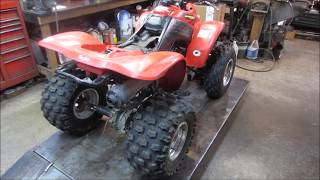 rotted out atv frame repair