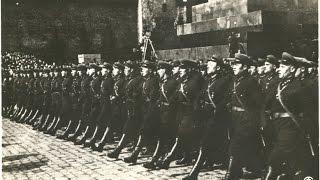 Москва, 1932, парад войск и демонстрация, Красная площадь, 1 мая, кинохроника СССР
