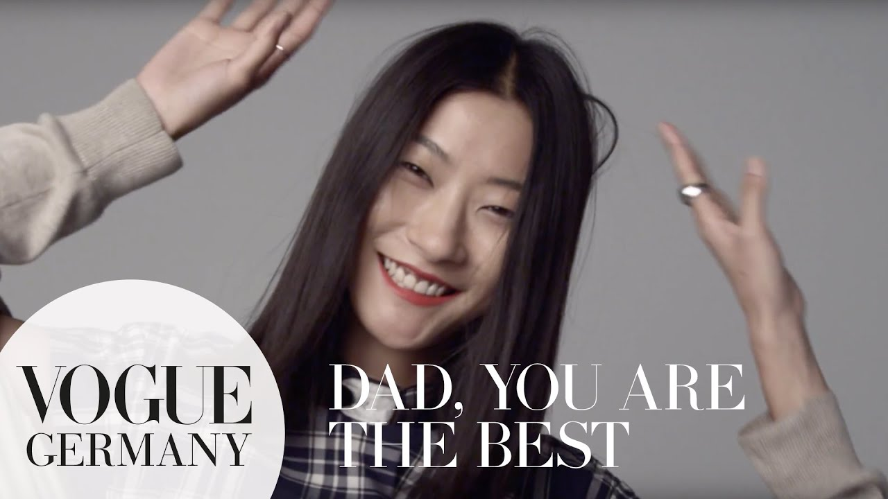 Dad, you're the best – A Message for you by Jihye Park for VOGUE