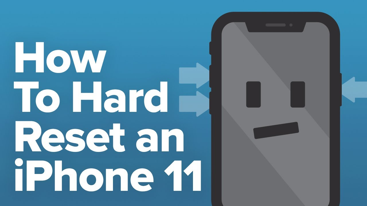 How To Hard Reset An Iphone 11 11 Pro And 11 Pro Max Youtube
