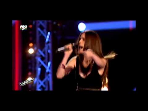 Maria Hojda -  A little party never killed nobody Vocea Romaniei 2014