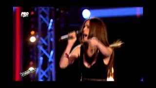 Maria Hojda A Little Party Never Killed Nobody Vocea Romaniei 2014