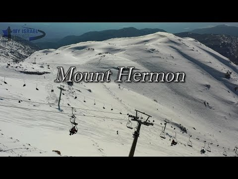 My Israel Project 4K - Mount Hermon In The The Winter
