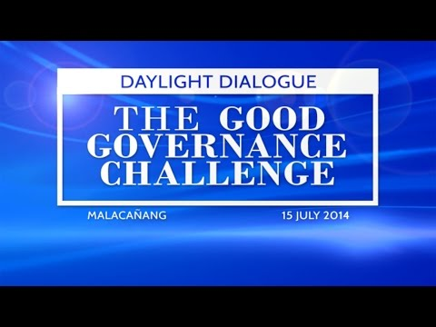 Daylight Dialogue: The Good Governance Challenge