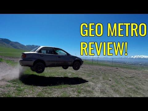 GEO METRO REVIEW | It Drifts, It Floats And It Flies!