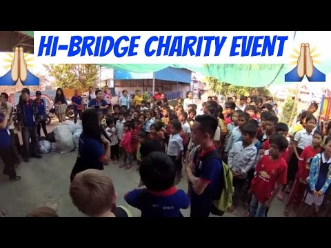 Hi Bridge Charity Event in Phnom Penh Vlog 22