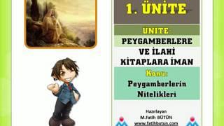 6. Sinif din kültürü 1. Ünite ders anlatimi