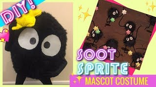 HOW TO MAKE A MASCOT COSTUME - SOOT SPRITE FROM SPIRITED AWAY