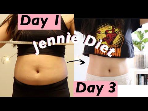 BLACKPINK JENNIE DIET + Workouts -  I eat like Jennie Kim for 3 days before a BLACKPINK comeback