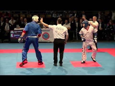 Hungary v Italy WAKO European Championships 2018